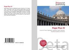 Capa do livro de Pope Pius IV