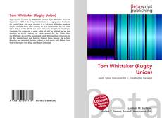 Bookcover of Tom Whittaker (Rugby Union)