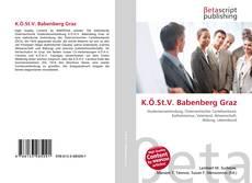 Bookcover of K.Ö.St.V. Babenberg Graz