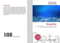 Capa do livro de Wang Zhao