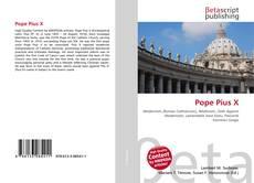 Capa do livro de Pope Pius X