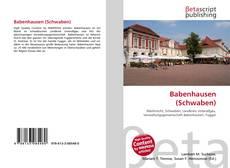 Borítókép a  Babenhausen (Schwaben) - hoz