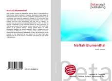 Обложка Naftali Blumenthal
