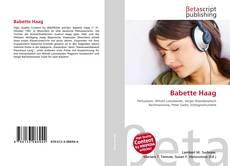 Обложка Babette Haag