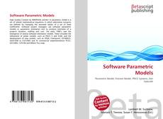 Bookcover of Software Parametric Models