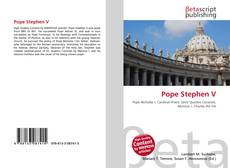Couverture de Pope Stephen V