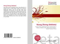 Capa do livro de Wang Zheng (Athlete)
