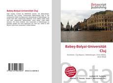 Couverture de Babeş-Bolyai-Universität Cluj