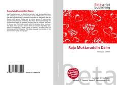 Buchcover von Raja Muktaruddin Daim
