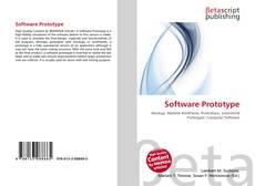 Capa do livro de Software Prototype