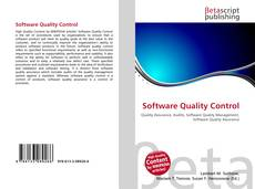 Bookcover of Software Quality Control