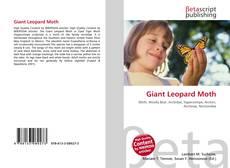 Buchcover von Giant Leopard Moth