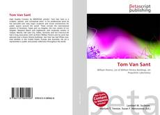 Bookcover of Tom Van Sant