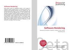 Portada del libro de Software Rendering