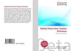Portada del libro de Naftali Hertz ben Yaakov Elchanan
