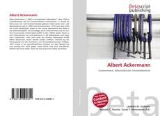 Portada del libro de Albert Ackermann