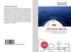 Bookcover of USS Wintle (DE-25)