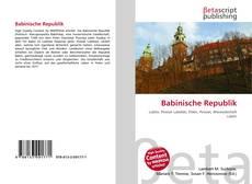 Bookcover of Babinische Republik