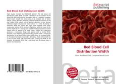 Bookcover of Red Blood Cell Distribution Width