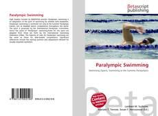 Capa do livro de Paralympic Swimming