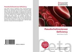 Обложка Pseudocholinesterase Deficiency