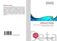 Bookcover of Software Sizing
