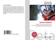 Обложка Jochen Babock