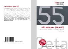 Portada del libro de USS Windsor (APA-55)