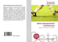 Albert Alexejewitsch Schesternew kitap kapağı