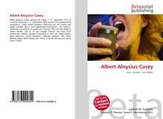 Bookcover of Albert Aloysius Casey