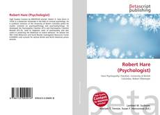 Bookcover of Robert Hare (Psychologist)