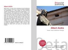 Buchcover von Albert Andre