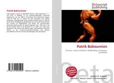 Capa do livro de Patrik Baboumian