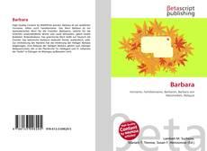 Bookcover of Barbara