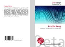 Capa do livro de Parallel Array