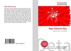 Bookcover of Raja Sitaram Ray