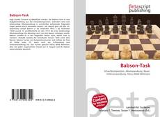 Bookcover of Babson-Task