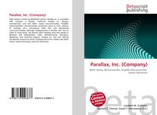 Capa do livro de Parallax, Inc. (Company)