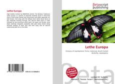 Bookcover of Lethe Europa
