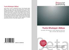 Bookcover of Yunis Khatayer Abbas
