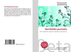 Bookcover of Horsfieldia punctata