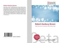 Couverture de Robert Hanbury Brown