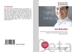Buchcover von Ivo Babuška
