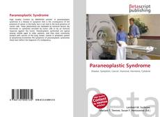Couverture de Paraneoplastic Syndrome