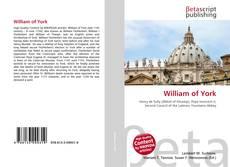William of York的封面