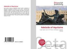 Обложка Adelaide of Aquitaine