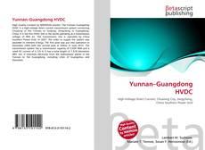 Capa do livro de Yunnan–Guangdong HVDC