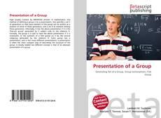 Presentation of a Group kitap kapağı