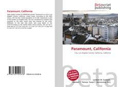 Bookcover of Paramount, California