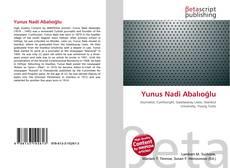 Buchcover von Yunus Nadi Abalıoğlu